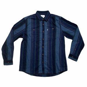 Katin Kramer Flannel Button Down Shirt Medium EUC